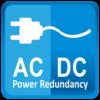 ACDC power redundancy
