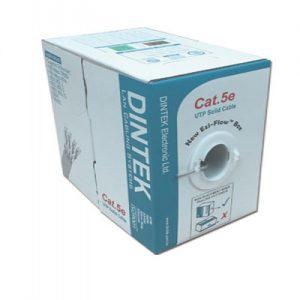 DINTEK Cable CAT5e UTP 305m(1101-03003) 1Gbps