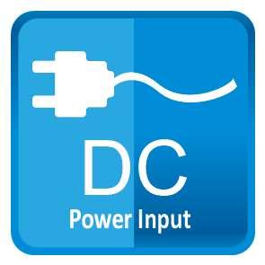DC power input