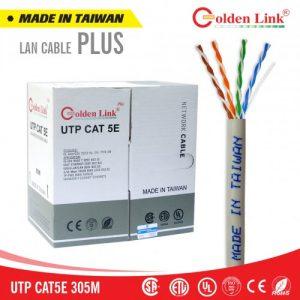 Cáp mạng Golden Link Plus UTP Cat5e (Xám)