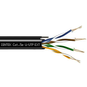 DINTEK Cable CAT5e OutSide 305m (1101-03026)